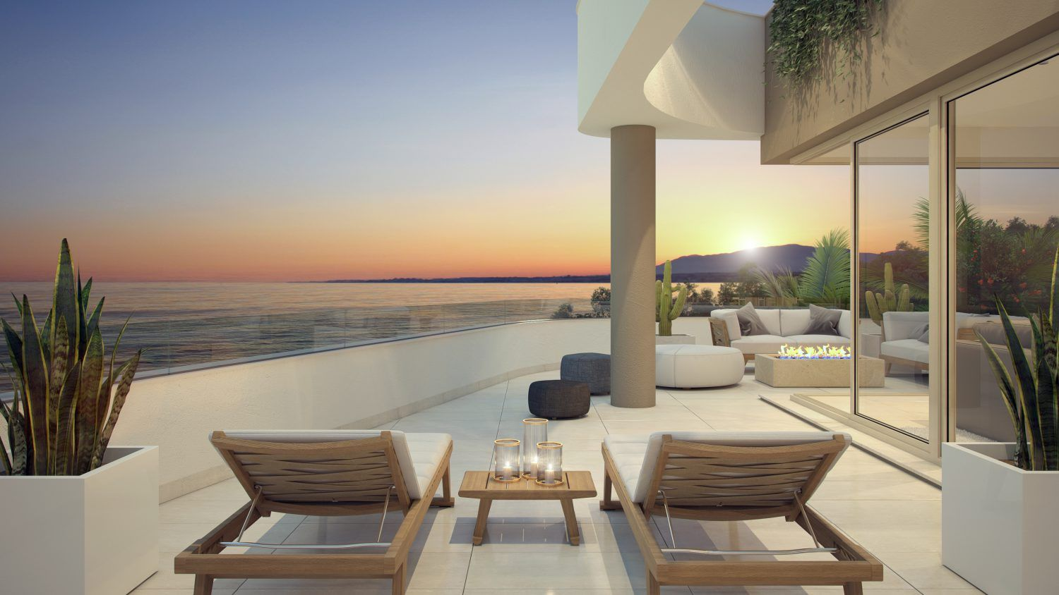 Amazing apartments in La Cala de Mijas