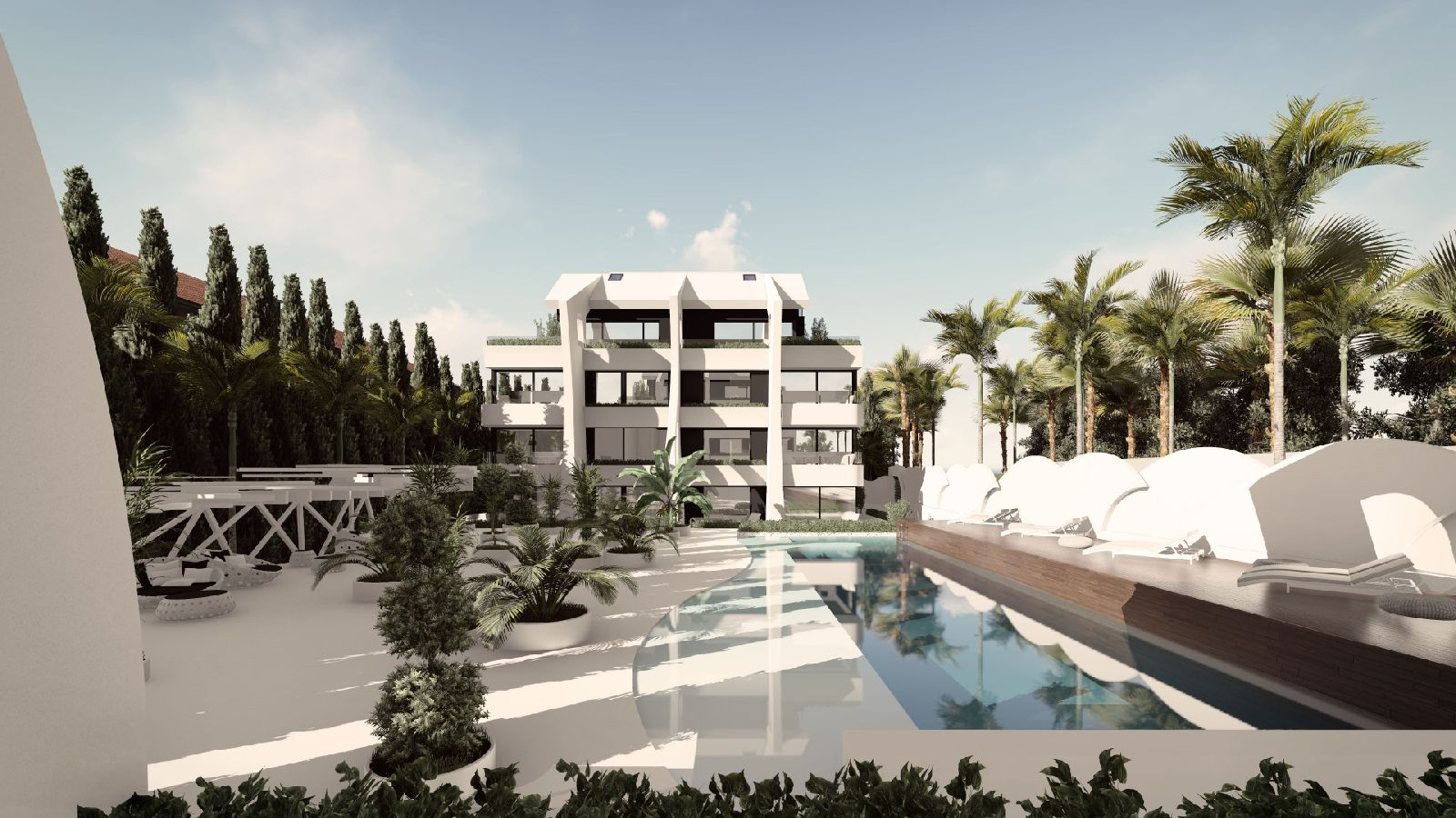 Thirty stunning contemporary apartments in Carib Playa