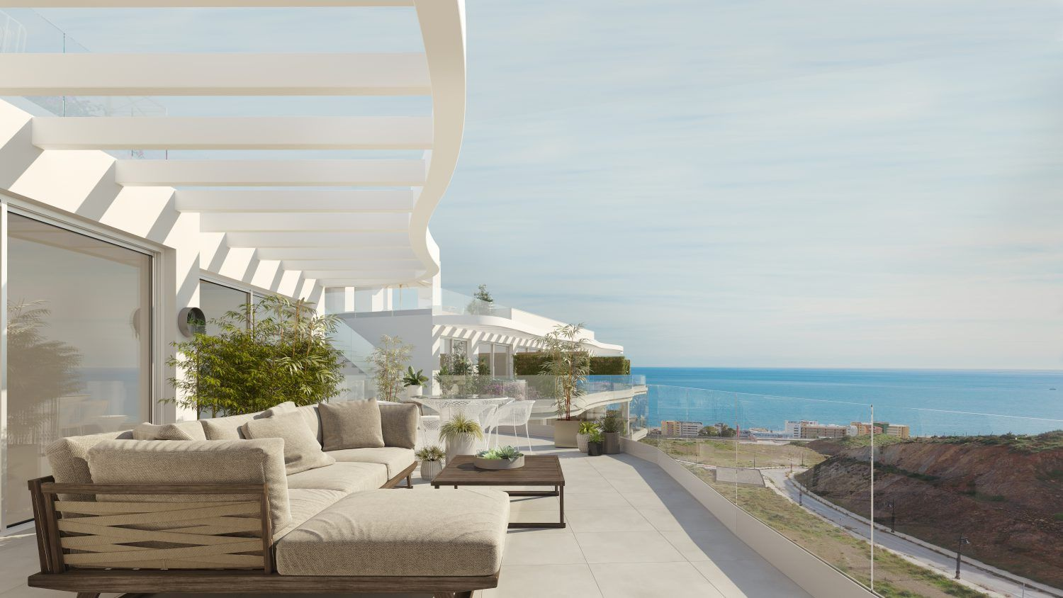 An exclusive development of 82 homes in Fuengirola